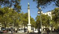 Plaza Cagancha. Foto: archivo El País