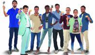 Plantel. García Morales, JR, Pacheco, Déborah Rodríguez, Ubríaco, Wynants, Lorenzotti y Recoba protagonizan la campaña. (Gentileza Publicis Ímpetu)