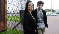 Marcela Matta y Mauro Sarser y su primer proyecto de largo de ficción. Foto: M. Bonjour