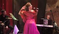 Divina Valeria está de visita en Uruguay. Foto: Difusión