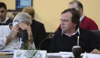 El Intendente de San José tuvo la palabra sobre el nuevo sistema de multas. Foto: G. Pérez