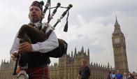 Londres. La capital inglesa cobija emprendimientos del área fintech. Foto: Reuters.