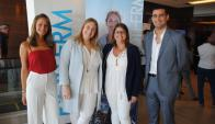 Stefania Pannunzio, Magdalena Mántaras, Leticia Campaña, Malcom Jackson.