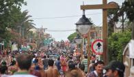 La Pedrera: miles de visitantes llegan a Rocha en cada temporada estival. Foto: archivo El País
