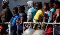 Refugiados que se salvaron informaron sobre cuántos se ahogaron. Foto: Reuters