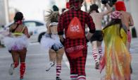 Carrera de San Valentin en Washington. Foto: AFP