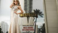 Melina Carballo. Foto: Facebook Miss Grand International