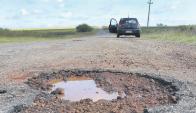 El gobierno ha señalado que le dará la prioridad a la reparación de la caminería. Foto: Archivo.