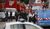 El sacerdote que fue degollado oficiaba misa en Rouen y tenía 86 años. Foto: AFP