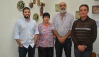 Díaz, Domínguez, Achkar y Pesce, los autores de Uruguay, una visión desde la geografía