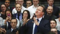 David Cameron en el parlamento Ingles. Foto: REUTERS