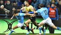 En Bucarest. Rumania le ganó ayer a Uruguay 36-10. Foto: FFR.RO