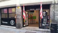La fachada del bar en Bilbao.  Foto: Facebook Bar José Pepe Mujica