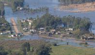 El pueblo ha sido afectado antes por el avance del agua. Foto: Ricardo Figueredo.