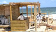 Los empresarios de la costa rochense aprontan sus negocios. Foto: Archivo El País
