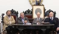 Leandro Aguirre, Luis Alberto Heber, Romeo Pérez, Jorge Seré.