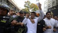 Actuación de la Justicia ha sido criticada en casos como el de López. Foto: AFP