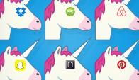 """Compañías. Spotify, Airbnb, Uber y Pinterest son consideradas """"unicornios"""". Foto: Google Images."""