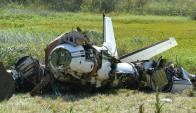 El Beechcraft B90 King Air no tenía caja negra. Foto: Ricardo Figueredo