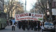 Tras varias agresiones que devinieron en paros, se procesó con prisión a una madre. Foto: A.Martínez.