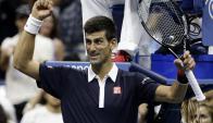 Novak Djokovic enfrentará en semis a Cilic. Foto: Agencia EFE