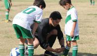 El Baby Fútbol tiene más de 120 canchas para siete ligas. La mayoría de los terrenos son prestados.