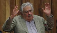 José Mujica en el acto de Corazón de León. Foto: EFE