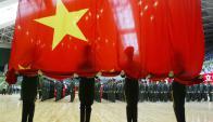 Con motivo del 60° aniversario de la Revolución, China sorprendió con sus tropas y tanques. Foto: AFP