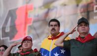 Con una crisis cada vez más aguda, Maduro busca enemigos dentro y fuera del país. Foto: AFP.