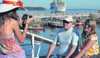 El ingreso de turistas a Uruguay muestra una firme tendencia al alza. Foto: R.Figueredo.