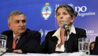 La jueza federal Sandra Arroyo Salgado, exesposa del fiscal Nisman. Foto: Reuters
