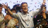 Mauricio Macri le ganó a todos los sondeos. Foto: Reuters