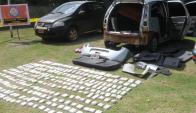 Los vehículos y otros bienes de narcos fueron rematados por la Justicia uruguaya. Foto: F.Flores.