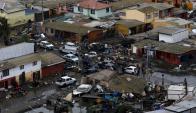 El día después del terremoto en Chile. Foto: Reuters