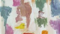 Mucha fantasía y una mancha de humedad se juntan en este trabajo de Acosta.