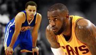 El duelo de las Finales: Curry vs LeBron James