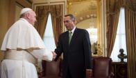 Luego de organizar la visita al Congreso del papa Francisco, Boehner renunció. Foto: AFP.
