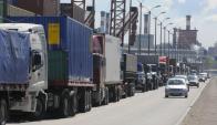 Montevideo tiene menor proporción de camiones antiguos el total del país. Foto: Ariel Colmegna