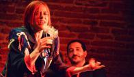"""""""Lo que más me gusta es el vivo"""", dice Giovanna. Foto: M. Altier."""