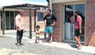 Al comienzo, la familia siria instalada en Juan Lacaze parecía estar satisfecha. Foto: R. Figueredo