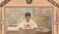 En la escuela 108 de Capurro, donde hizo toda la primaria