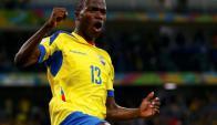 Enner Valencia, goleador ecuatoriano y del West Ham. Foto: Reuters.