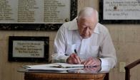 Expresidente Jimmy Carter.