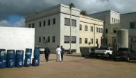 El Hospital de Melo debió extremar cuidados de higiene. Foto: Néstor Araújo