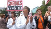 Los maestros de Canelones están hoy de paro; sus colegas de Montevideo solo apoyan.