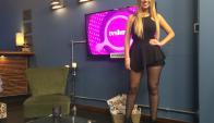 El impactante look de Luli Cardarello en el living de Tv Show