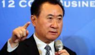 El fundador de grupo Wanda, Wang Jianlin, es el hombre más rico de China. Foto: AFP.