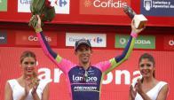 Nelson Olveira es el ganador de la decimotercera etapa de la Vuelta de España. Foto: Agencia EFE