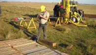 Las primeras perforaciones para la búsqueda de hidrocarburos se hicieron en 2006. Foto: Ancap