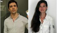 Marcelo Wilkorwsky y Sofía Orellano.